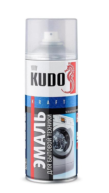 Эмаль для бытовой техники белая  KUDO, 520 мл