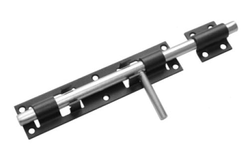 Засов дверной ЗД- 300 черный (Балаково) DOMART,  11589240 | Мaxim-stroy