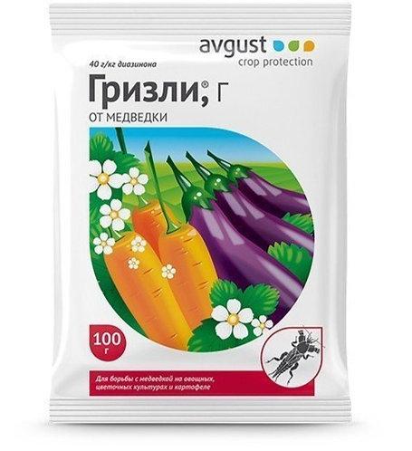 Инсектицид AVGUST Гризли от медведки 100г  2252