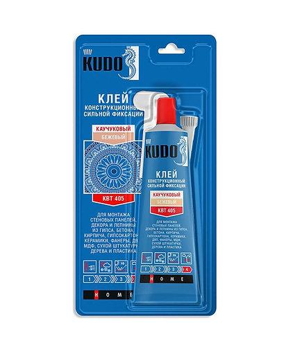 Жидкие гвозди универ. конструкционные сильной фиксации каучуковые KUDO, 85 гр