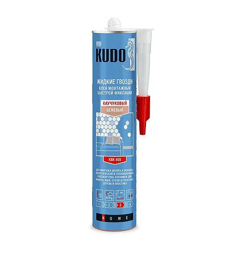 Универсальный монтажный клей быстрой фиксации на каучуковой основе  KUDO, 280 мл