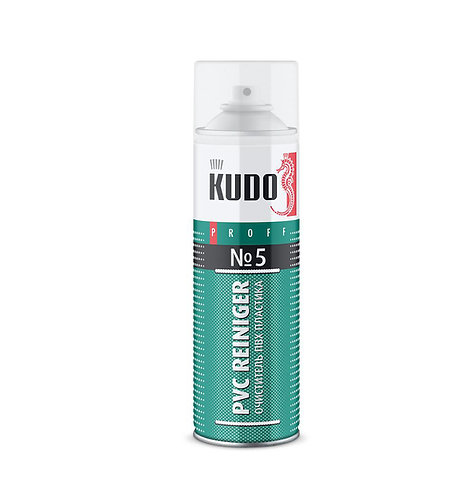 Очиститель пластика ПВХ №5 (KUDO PVC REINIGER № 5) 650 мл