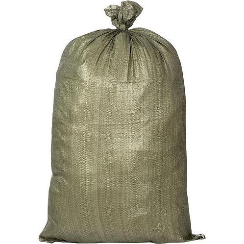 Мешок полипропиленовый 55*95см,  зеленый, 57254
