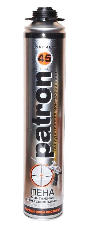 Пена профессиональная всесезонная PATRON ULTRA 45 калибр, 750 мл