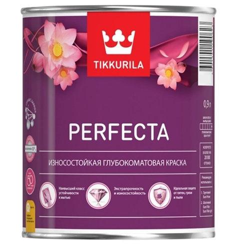 Краска интерьерная TIKKURILA PERFECTA износостойкая   база A (0,9л) 18813