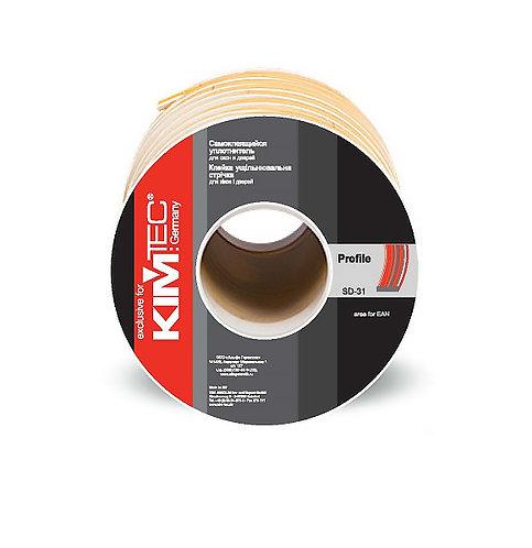Уплотнитель KIM TEC SD51/4-профиль 100м (15 мм х 4мм)