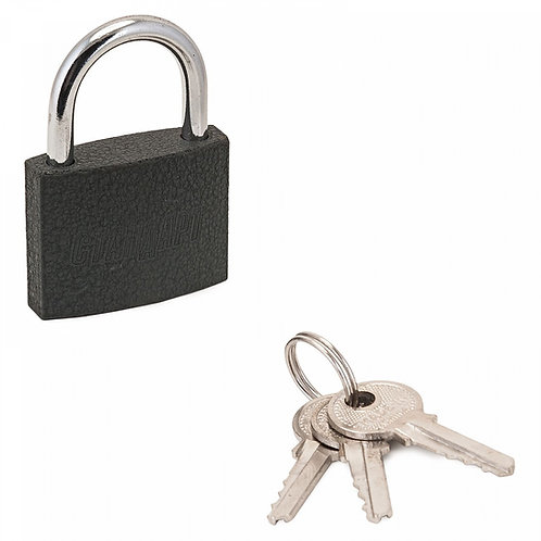 Замок навесной АЛЛЮР СТАНДАРТ HG-350 d-6 мм, 3 ключа, 11600559