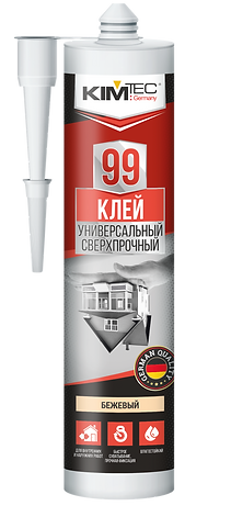 Жидкие гвозди KIM TEC 99,  экстра сильные 280мл, 11602849
