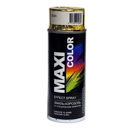 Эмаль-аэрозоль MAXI COLOR золото эффект, 400 мл