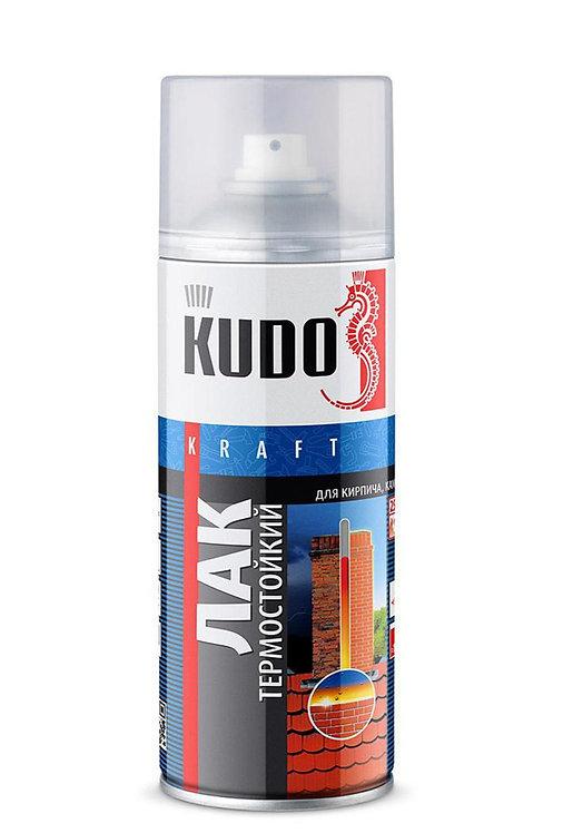 Лак термостойкий KUDO, 520 мл