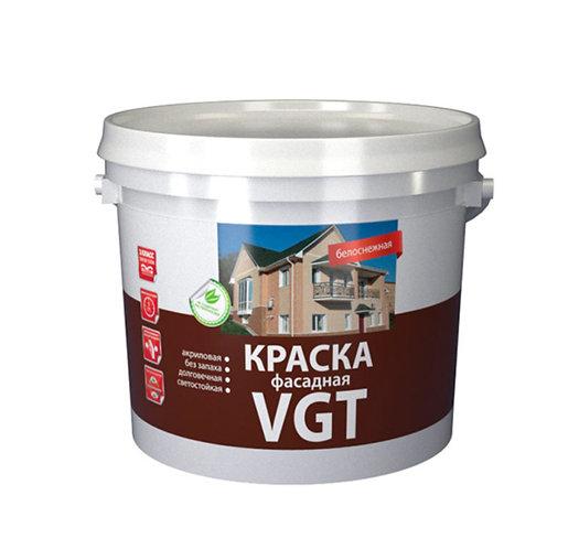 Краска VGT фасадная Белоснежная ВД АК 1180