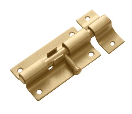 Шпингалет ШП-60 золото (Балаково) DOMART,  52971
