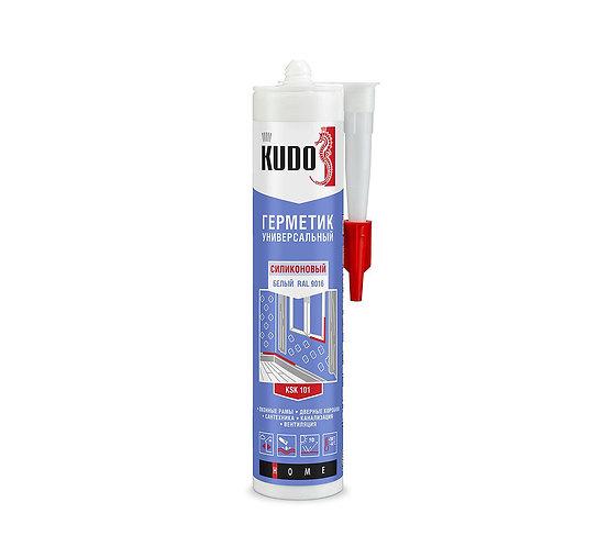 Герметик силиконовый универсальный KUDO, 280 мл