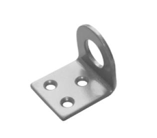 Проушина 35*70 угловая серый металлик  (Балаково) DOMART, 53298