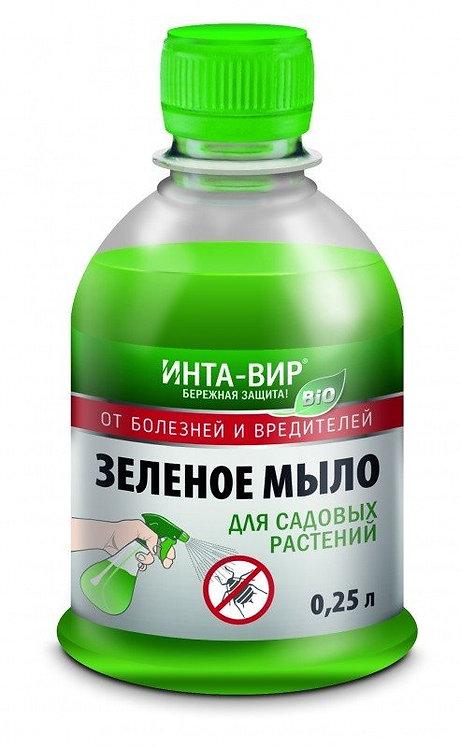Зеленое мыло ИНТА ВИР 250мл   587446