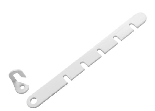 Ограничитель оконный белый   (Балаково) DOMART,    50091