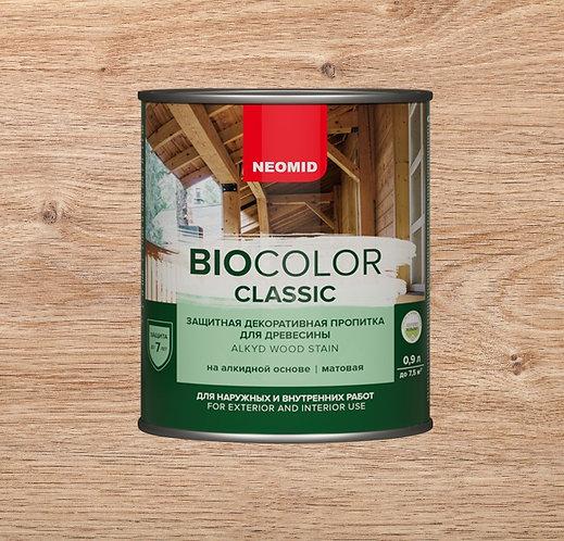 Защитная пропитка для древесины NEOMID Bio Color Classic, 0,9 л