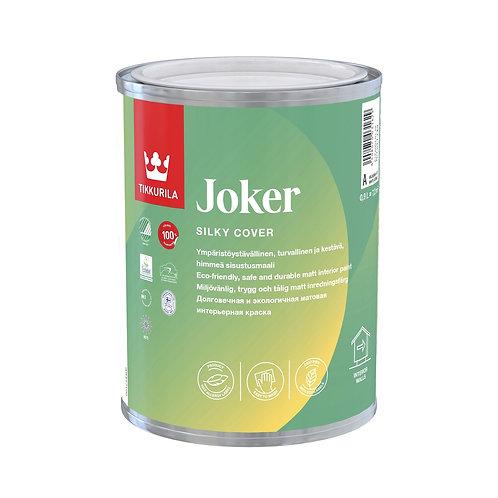 Краска гипоаллергенная TIKKURILA JOKER  для интерьеров база А (0,225л) 7891