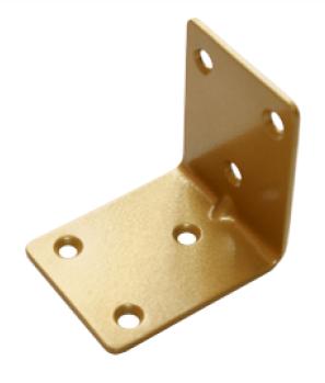 Уголок крепежный 50*50*40 золото (Балаково) DOMART,    54902