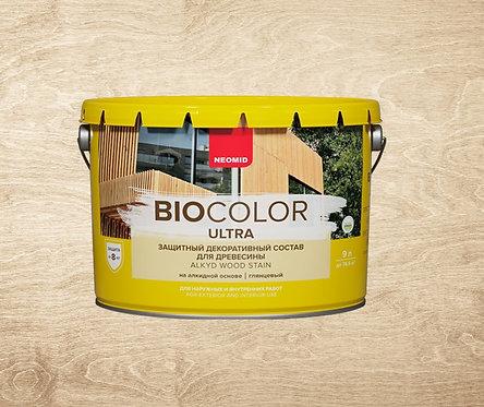 Защитная пропитка для древесины NEOMID Bio Color ULTRA, 9 л