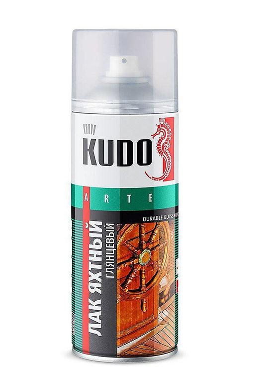 Лак яхтный универсальный глянцевый KUDO, 520 мл