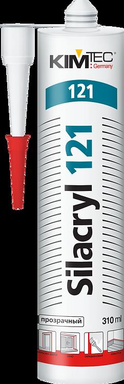Герметик силакриловый KIM TEC 121 Silacryl прозрачный 310 мл 57361