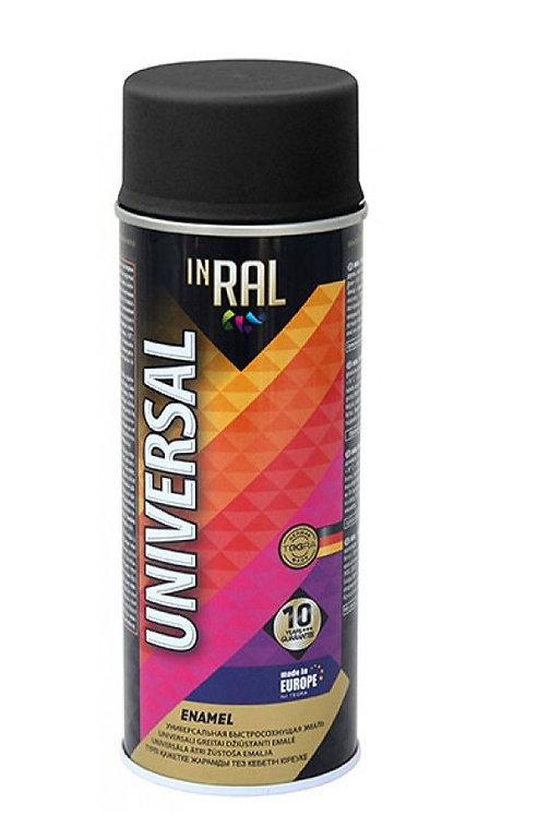 Аэрозольная краска INRAL UNIVERSAL, матовая RAL 400 мл