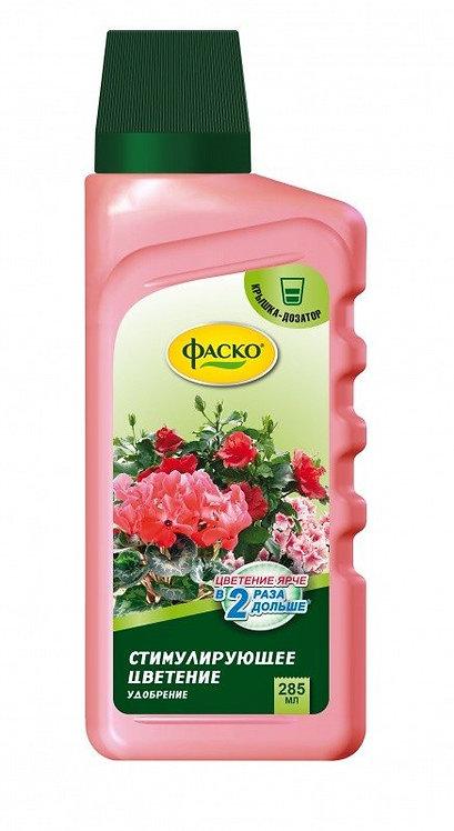 Жидкое удобрение стимулирующее цветение  Цветочное счастье ФАСКО 285мл 11600334