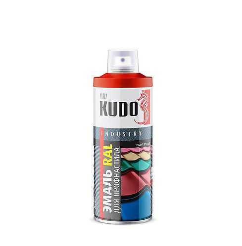 Эмаль KUDO для металлочерепицы RAL, 520 мл