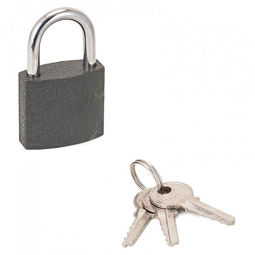Замок навесной АЛЛЮР СТАНДАРТ HG-330 d-4,5мм, 3 ключа, 11600557