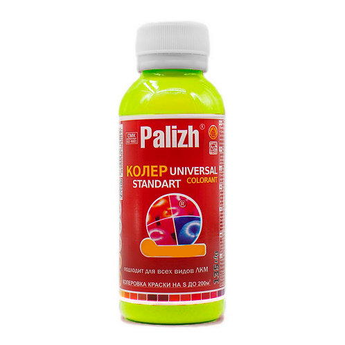 Колер универсальный PALIZH №01 лимонно-желтый 100 мл
