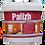 Thumbnail: Лазурь для древесины AQUA PALIZH №284.06 черный, 0,9л  11605757