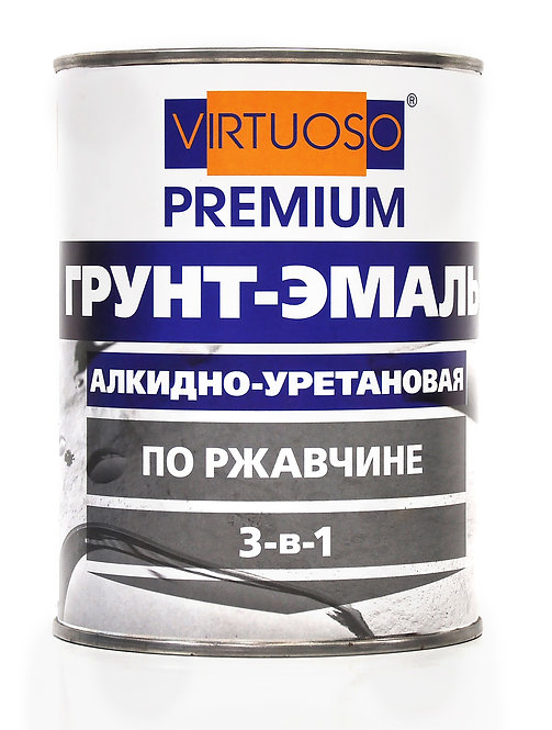 Грунт-эмаль VIRTUOSO PREMIUM 3-в-1 по ржавчине