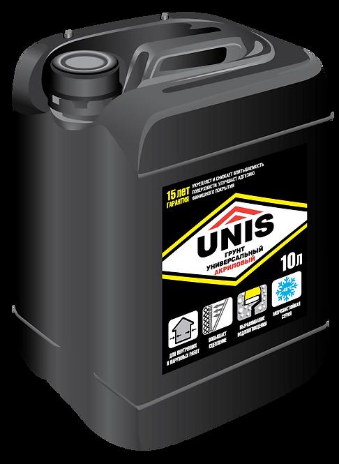 Грунт универсальный UNIS, 10 л