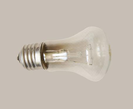 Лампа накаливания М 50 грибок Калашниково 230-40W E27,  11588991