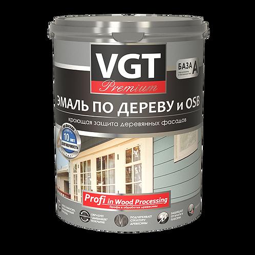 """Эмаль VGT для дерева """"Профи"""" ВД АК 1179 кремовая 2,5 кг,  11604202"""