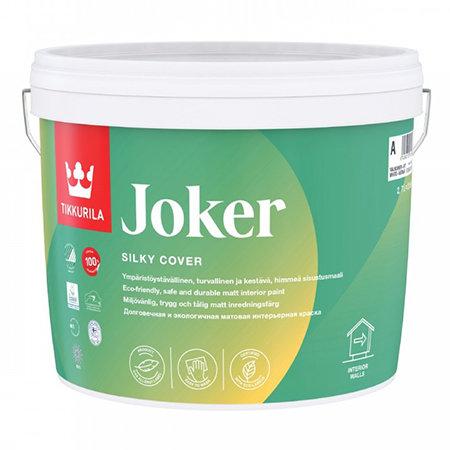 Краска гипоаллергенная TIKKURILA JOKER  для интерьеров база А (2,7л) 566