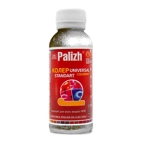 Колер универсальный PALIZH №1002 серебро 100 мл