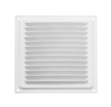 Решетка вентиляционная металлическая 150х150 белый(Балаково) DOMART,  11593710