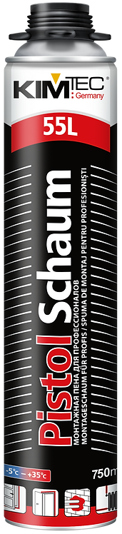 Пена пистолетная KIM TEC Pistol Schaum 101S, 750 мл всесезонная