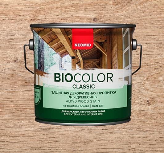 Защитная пропитка для древесины NEOMID Bio Color Classic, 2,7 л