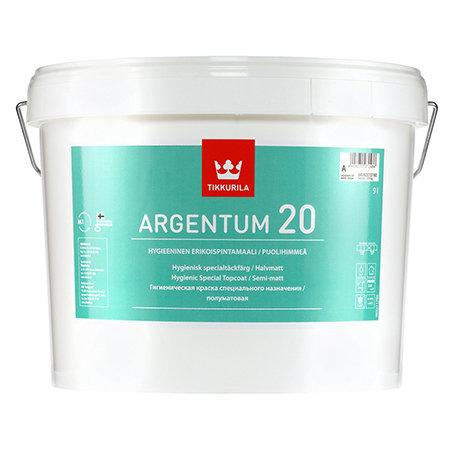 Краска антимикробная TIKKURILA ARGENTUM 20 (9 л) 22050