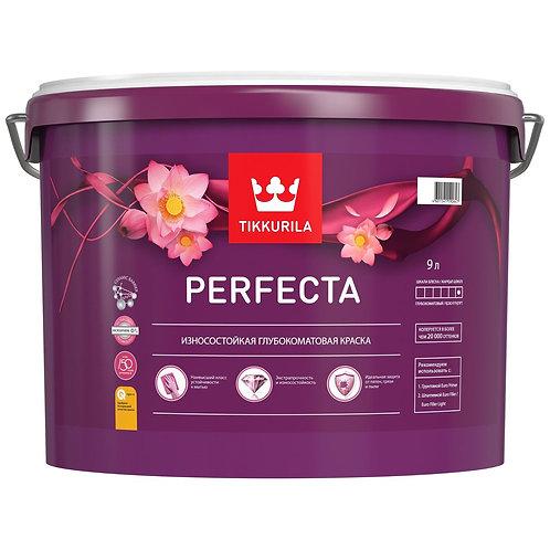 Краска интерьерная TIKKURILA PERFECTA износостойкая  база С (9 л) 18818
