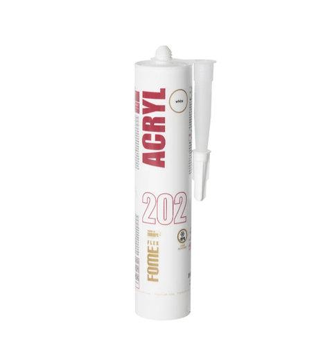 Герметик акриловый  FOME FLEX ACRYL 202, белый 310мл