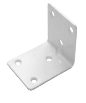 Уголок крепежный 50*50*40 белый (Балаково) DOMART, 54901