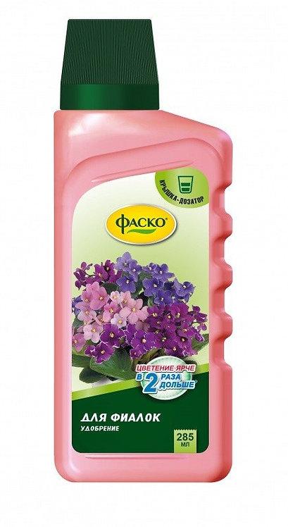 Жидкое удобрение  для Фиалок Цветочное счастье ФАСКО 285мл 11587650