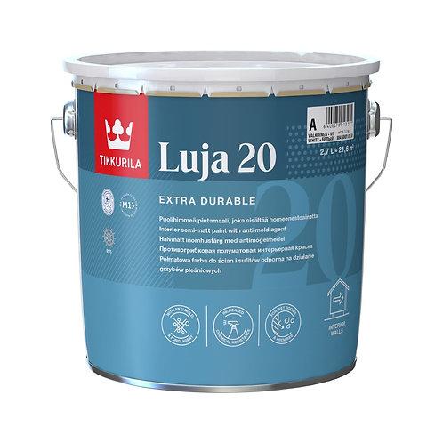 Краска антигрибковая TIKKURILA LUJA 20 для влажных помещений база А (2.7л) 2994