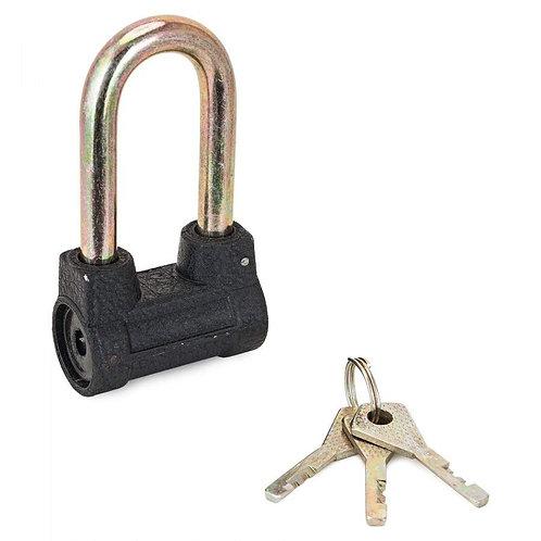 Замок навесной СТАНДАРТ АL-660L d-9,5мм, 3 ключа, 11600552