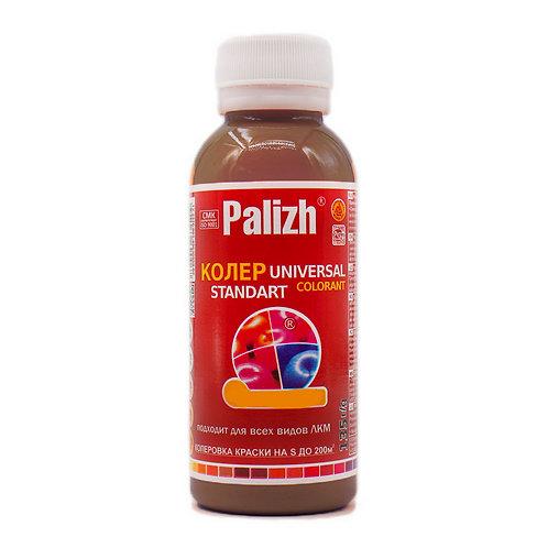 Колер универсальный PALIZH №4 кофейный 100 мл