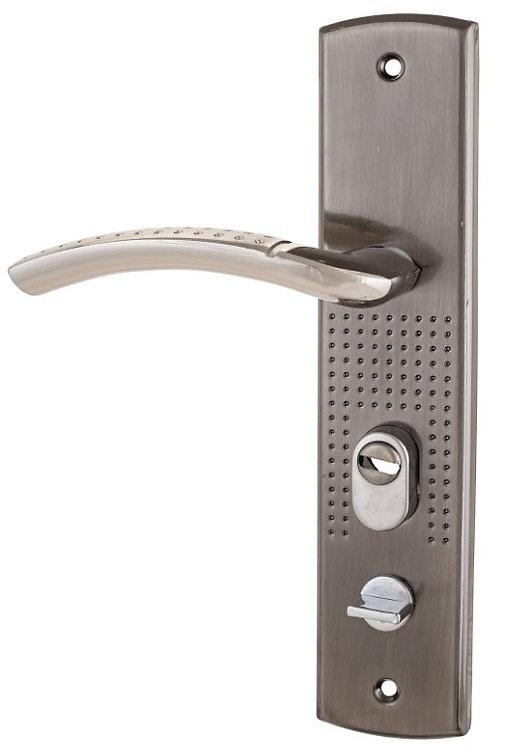 Комплект ручек СТАНДАРТ РН-СТ222-1R правая для металл. дверей подсветка 11604044